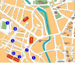 mapa O Couto